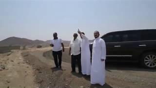زيارة الوفد الارتيري لمزرعة الشيخ سليمان بن سعيد الجابري