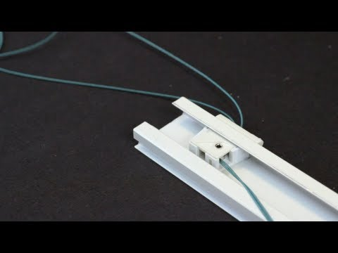 How to Restring a Top Down-Bottom Up Cellular Honeycomb Shade (Graber-Bali)