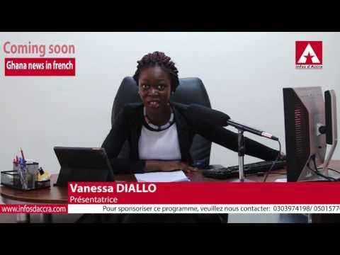 Teaser du Journal Télévisé d'Infos d'Accra - Ghana News in French