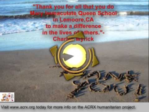 Mary Immaculate Queen School Receive Tribute & Free Discount Cards By Charles Myrick