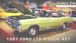Muscle Car Of The Week Video #92:  1967 Ford LTD XL 427 R-Code 4-Speed