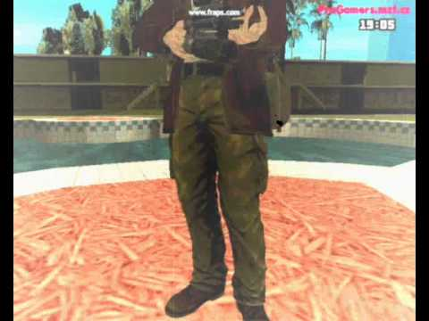 GTA SA The Saboteur Skin