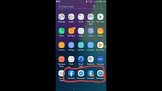 How To Use 2 Two Facebook Messenger On One Android - Soft Easy Solution screenshot 4