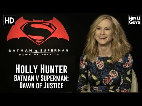 Holly Hunter Exclusive Interview - Batman vs. Superman: Dawn of Justice