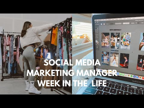 SOCIAL MEDIA MARKETING MANAGER | Week in the Life