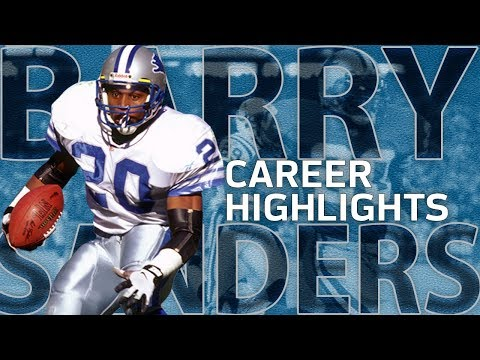 Barry Sanders UNREAL