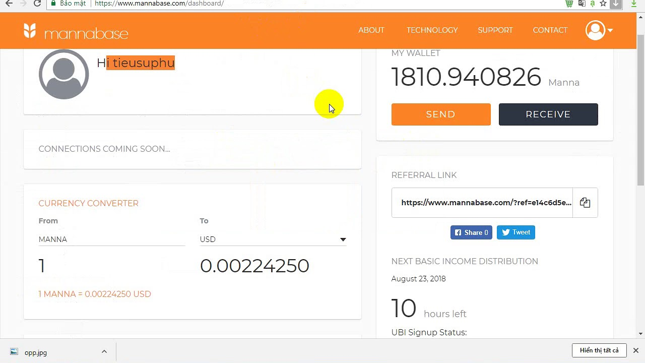 Download Update mannabase Cách mở khoá tài khoản nhận coin miễn phí hàng tuần