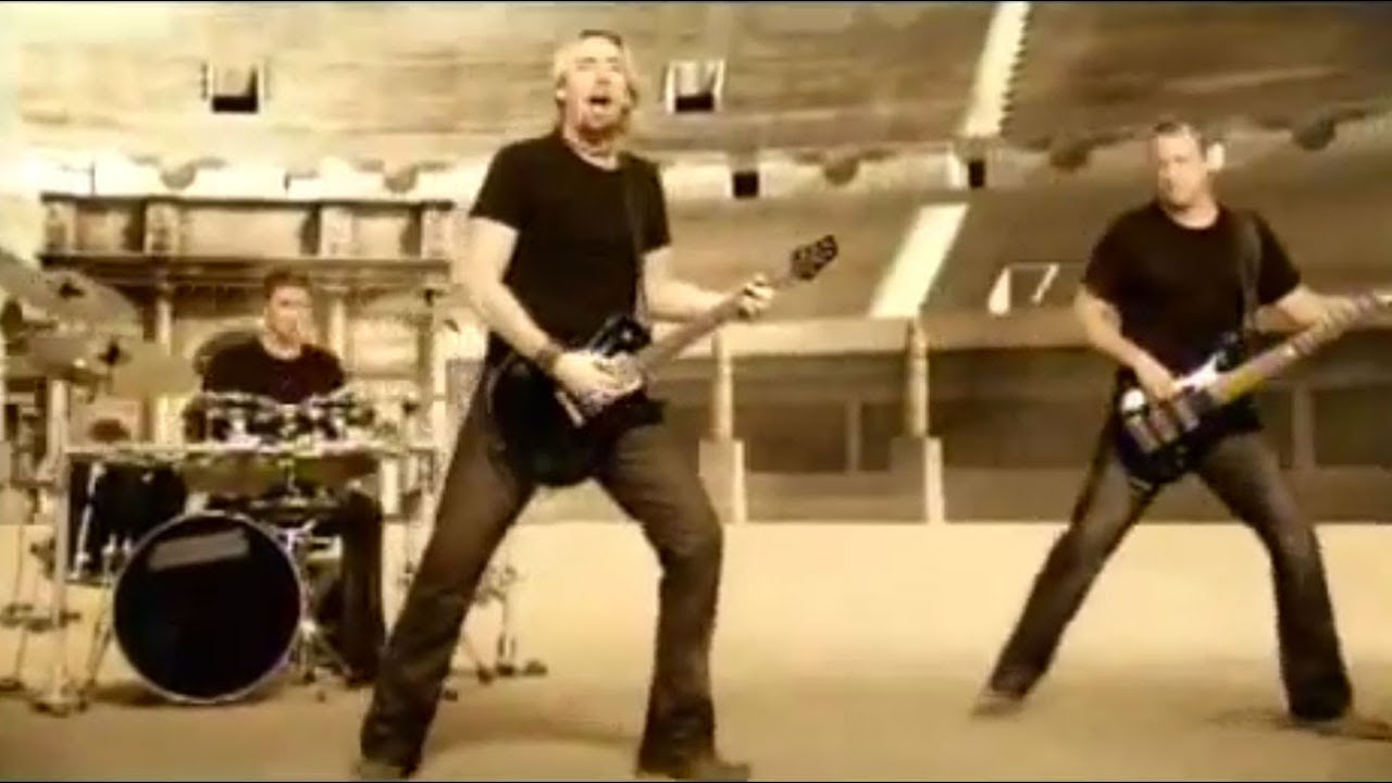 Nickelback - Gotta Be Somebody [OFFICIAL VIDEO] - YouTube