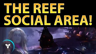 Planet Destiny: Reef Social Hub in House of Wolves!