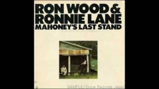 Ron Wood & Ronnie Lane -- Just for the Moment (lyrics)