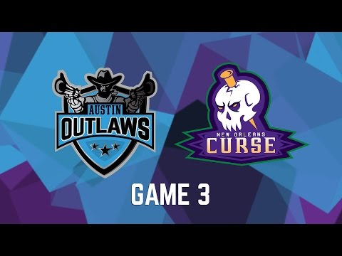 Austin Outlaws vs. New Orleans Curse - Game 3