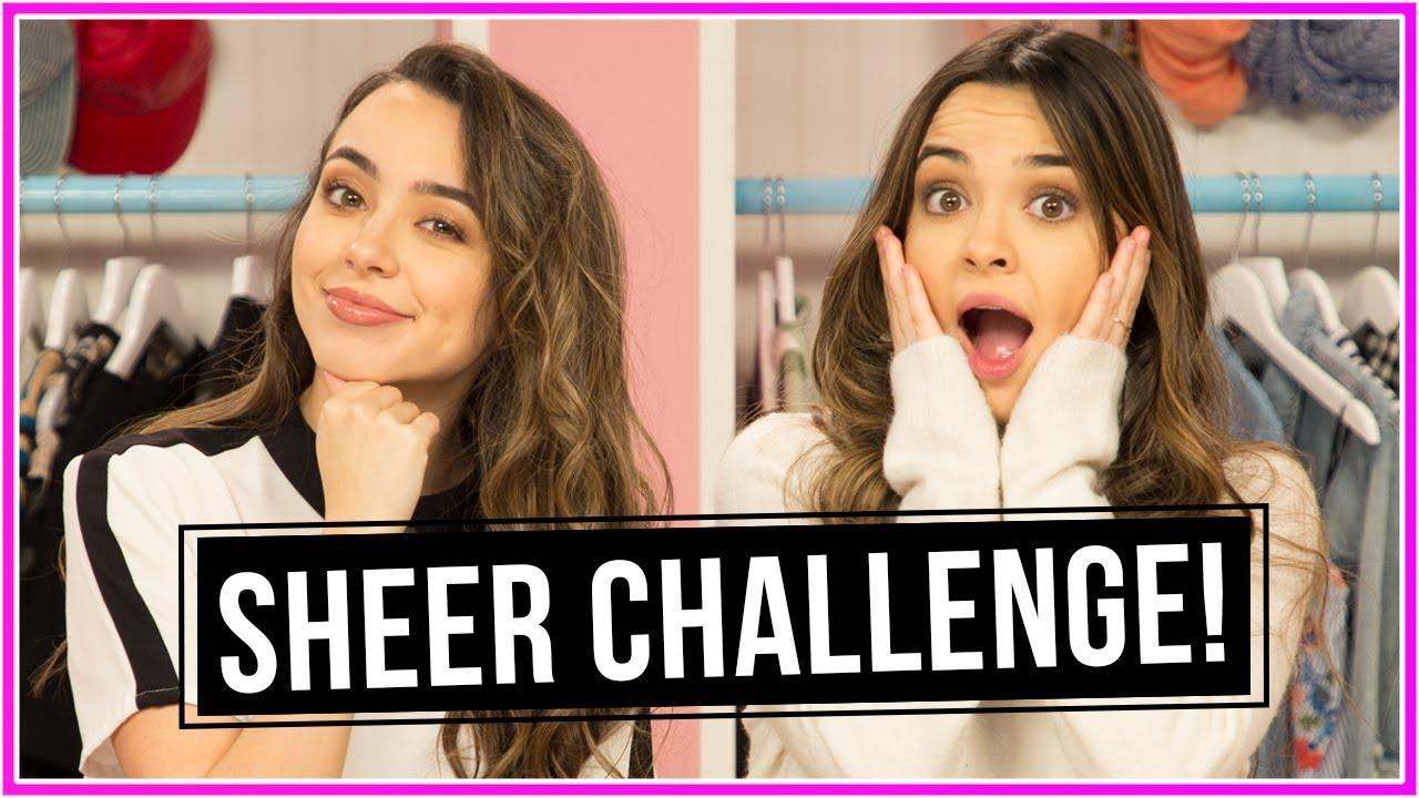 SHEER CHALLENGE!? | Closet Wars w/ Merrell Twins