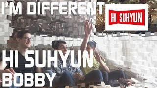 Hisuhyun (feat. Bobby) - I'm Different Music Video Reaction, Non-kpop Fan Reaction [hd]