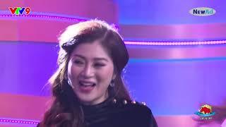 Diễn viên Mùi ngò gai Hoà Hiệp tỏ tình Thanh Trúc trên sóng truyền hình.
