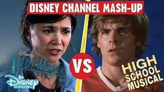 Disney Channel Mashup | High School Musical VS Andi Mack | Official Disney Channel UK