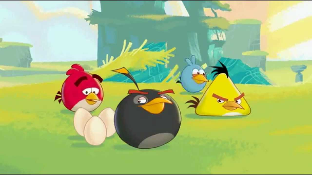 Angry Birds Trilogy CutScenes #4 - YouTube