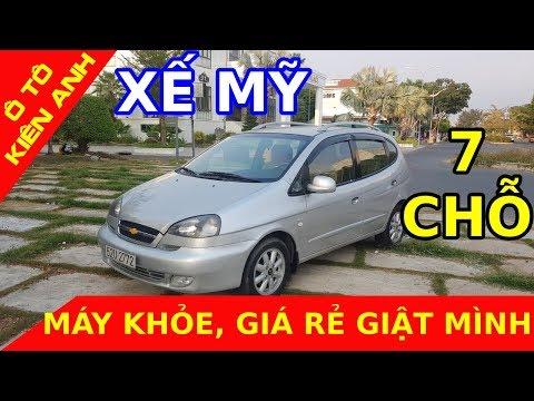 (ĐÃ BÁN )Chevrolet Vivant CDX 2008, 7 Chỗ, Số Sàn - Xế Mỹ Giá Rẻ Như Xe Máy