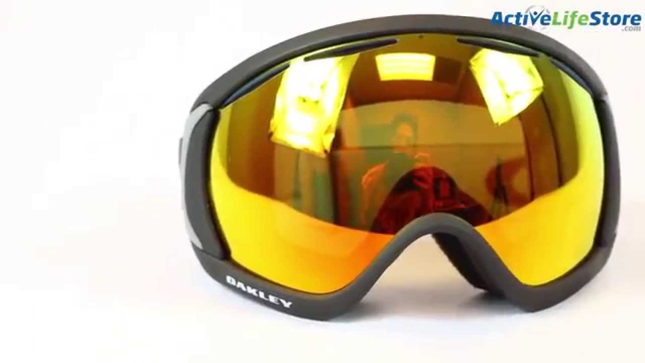 best oakley ski goggles hr2x  Oakley Canopy Snowboard/Ski Goggle Video Review