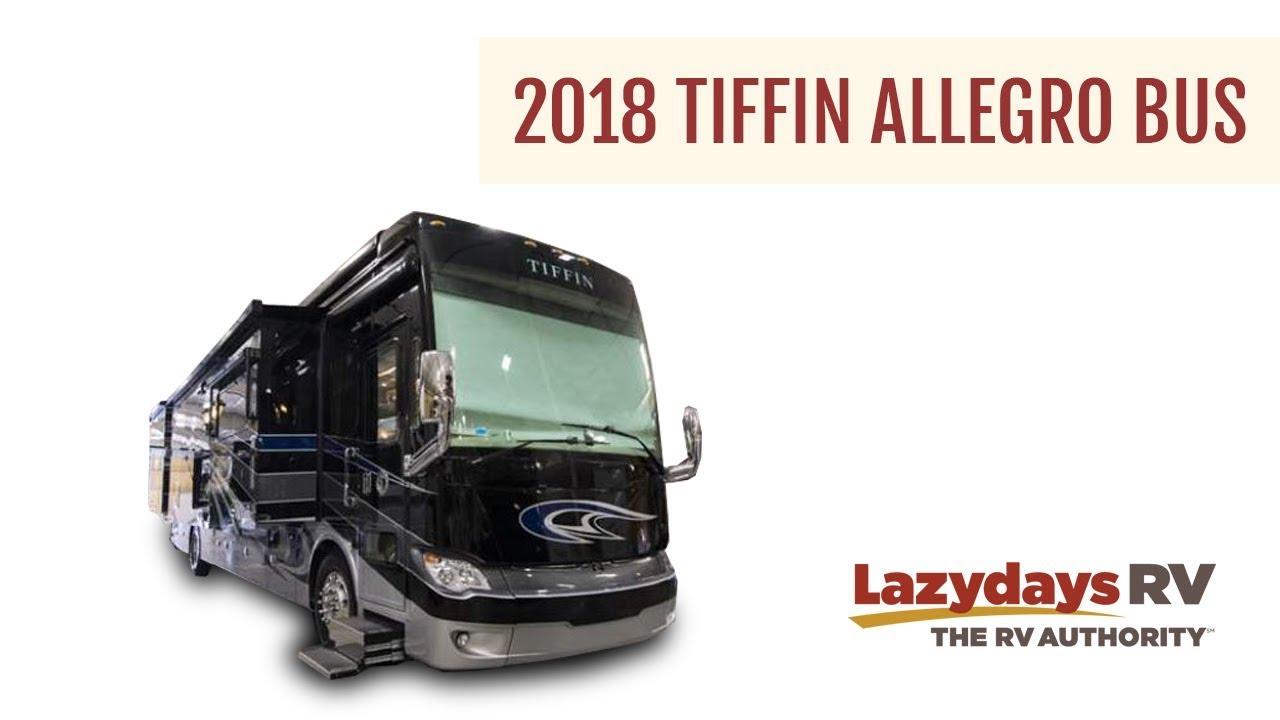 2018 Tiffin Allegro Bus Video Tour from Lazydays RV Dealership