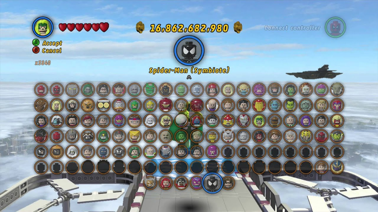 LEGO Marvel Superheroes - Polaris Glides Across the map - YouTube
