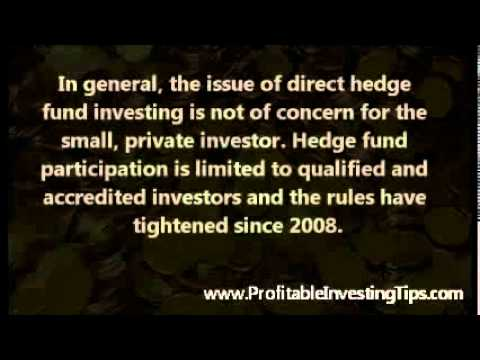 Direct Hedge Fund Investing