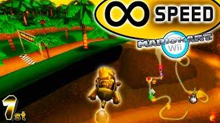 Mario Kart Wii But You Never Stop Accelerating... KARTS?