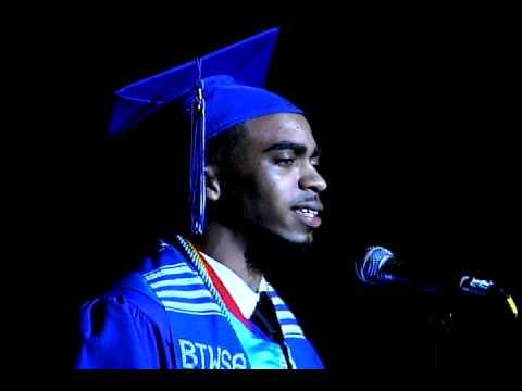 Booker T. Washington High grad Deonte Bridges' Valedictorian speech