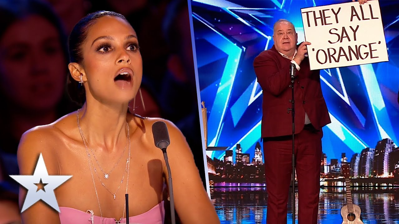 Will David be fooled by John's COMEDY MAGIC? | Unforgettable Audition | Britain's Got Talent
