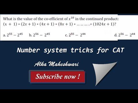 Quantitative aptitude for CAT   Math short tricks  number system for CAT