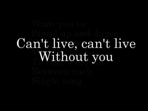 Scorpions - Can't Live Without You Lyrics