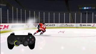 EA NHL 13 true performance skating tutorial