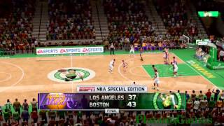 NBA Los Angeles Lakers vs Boston Celtics - 4th Qrt - NBA Live 14 - PlayStation 4 - HD