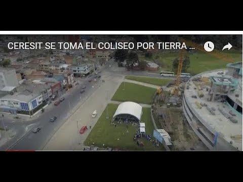 CERESIT SE TOMA EL COLISEO POR TIERRA Y AIRE