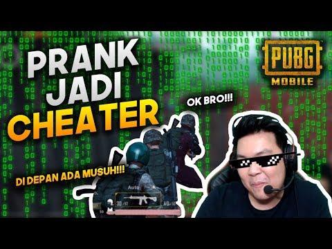JADI CHEATER SQUAD RANDOM KENA PRANK - PUBG MOBILE INDONESIA
