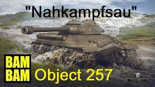 World of Tanks Replay 0088 (deutsch) Object 257 - Kampfsau bambam