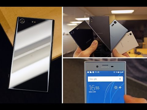 Sony Xperia XZ Premium & XZS Hands On - A 4K HDR Display on a Smartphone!?
