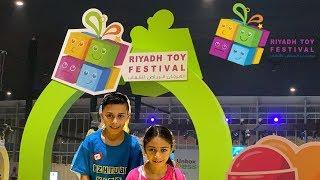Riyadh Toy Festival Vlog with Heidi and Zidane