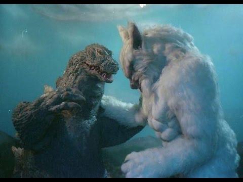 Godzilla Vs  The Wolfman Fan Intro & Surviving Footage