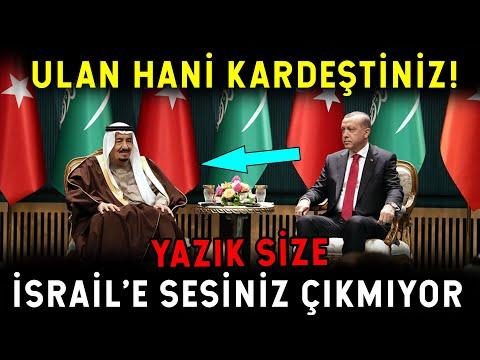 Erdoğan İsrail'e Sesini Çıkarmayan Arap Liderleri Fırçaladı! ULAN HANİ KARDEŞTİNİZ!