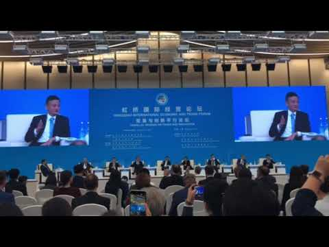 Jack MA speech China CIIE Import Expo