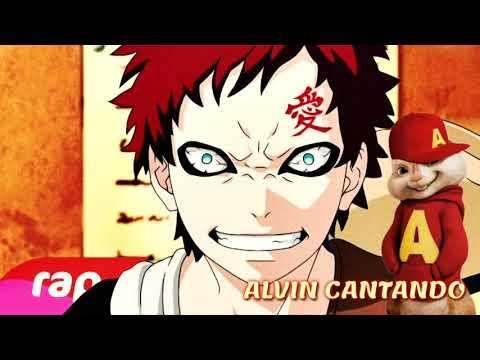 Alvin Cantando o Rap do Gaara (Naruto) -CAIXÃO DE ÁREIA | NERD HITS