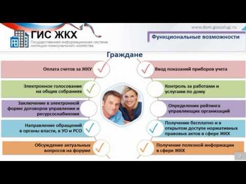Размещение информации в ГИС ЖКХ. Видеоурок. ч.1.