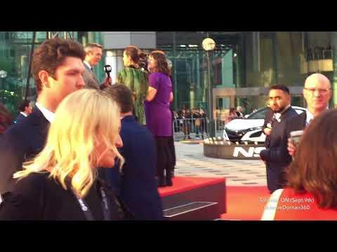 #AmeliaWarner and #JamieDornan on red carpet for #TIFF17