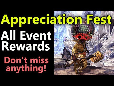 MHW: Appreciation Event 1 Year Anniversary | ALL Special Event Rewards | Complete Guide