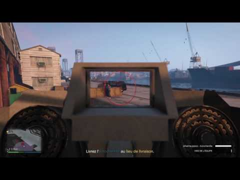 Mission bunker 2 : chasse aux chenilles GTA 5 online trafic d'armes