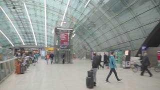 Directions to Frankfurt Airport Marriott Hotel from long distance train station, Frankfurt Airport