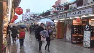 Winter...Walking in Tokyo 2014 ( Shinjuku,Asakusa,Skytree,Shibuya ) part 1