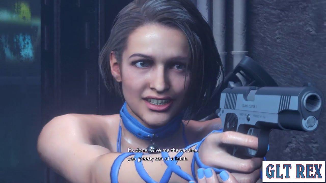 Resident Evil 3 Remake Jill Valentine in Tifas Sexy Dress
