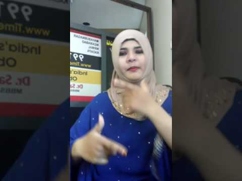 Hyderabadi song Mafia dubsmash .... Neha Khan