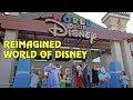 Re-Imagined World of Disney Stores at Disneyland and Walt Disney World